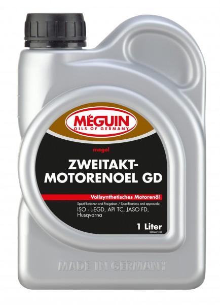 megol Zweitaktmotorenöl GD vollsynthetisch (1 Liter Flasche)