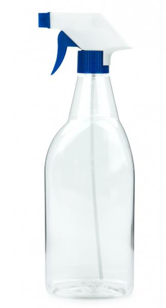 PET Sprühflasche mit Sprühpistole transparent