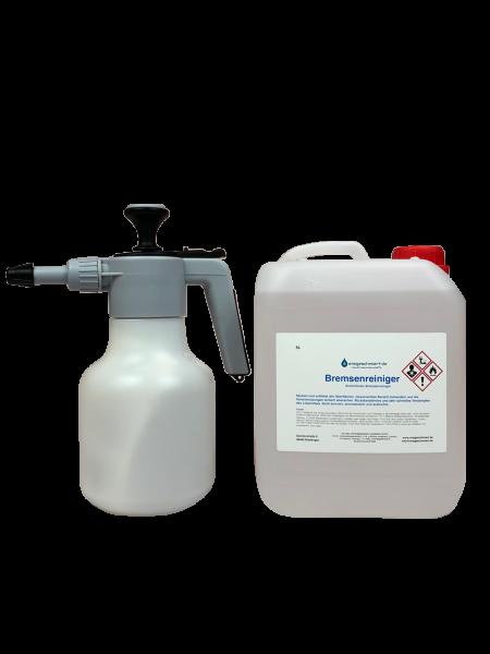 5L Bremsenreiniger acetonfrei mit hochwertigem Druckspritzer