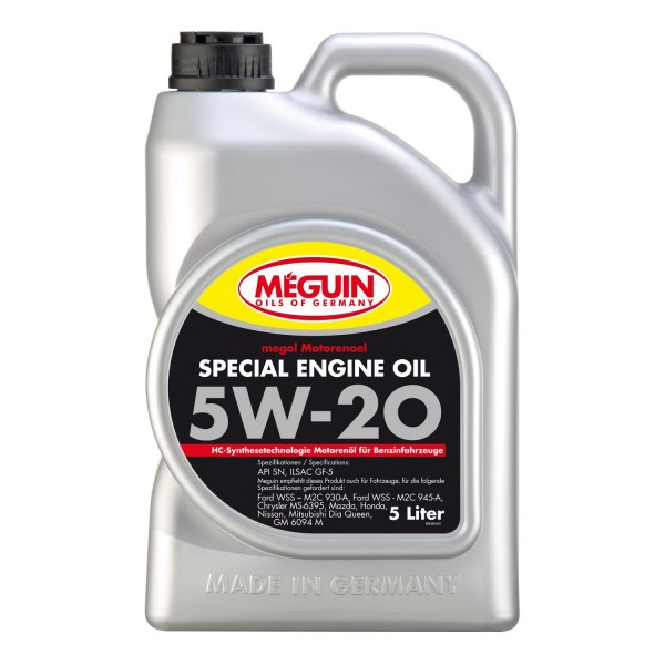 Megol Special Engine Oil SAE 5W-20 5L
