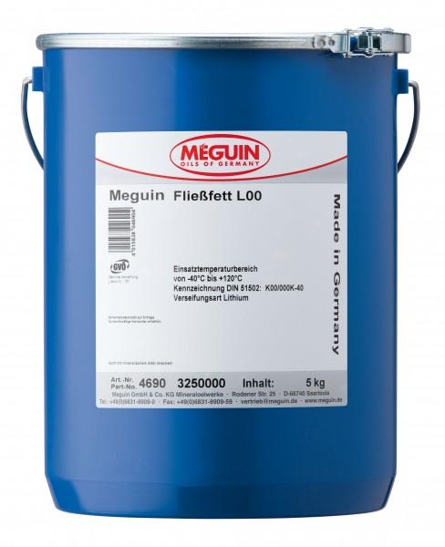Meguin Fließfett L00 (5 kg Eimer)
