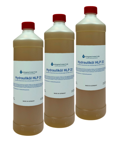 Hydrauliköl HLP 22 (3 x 1 Liter Flasche)