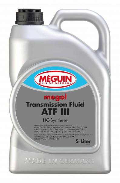 Transmission-Fluid ATF III (5 Liter Kanister)