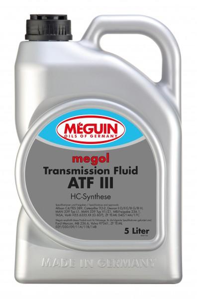 Transmission-Fluid ATF III 5L