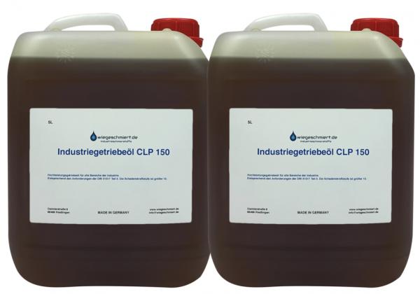 Industriegetriebeöl CLP 150 (2 x 5 Liter Kanister)