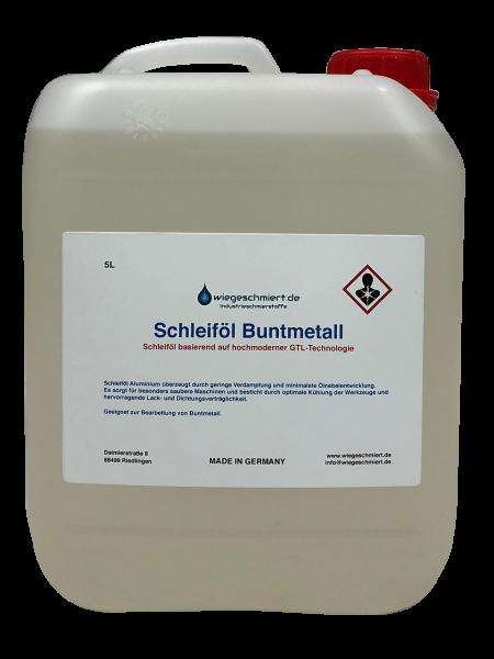 Schleiföl Buntmetall