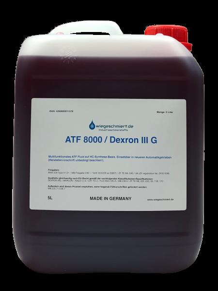 Automatikgetriebeöl ATF 8000 / Dexron III G