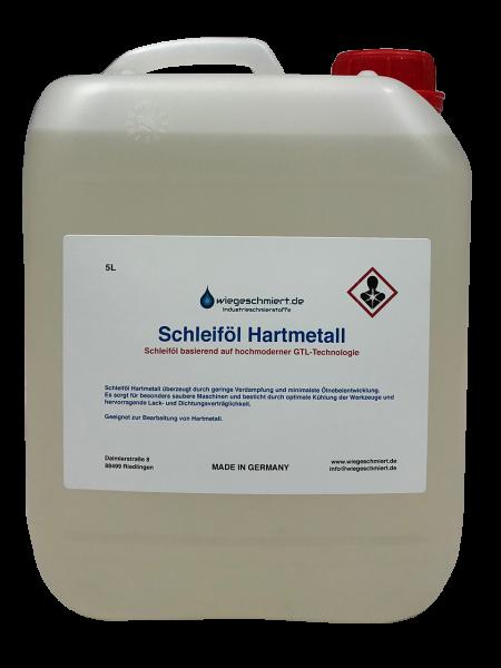 Schleiföl Hartmetall