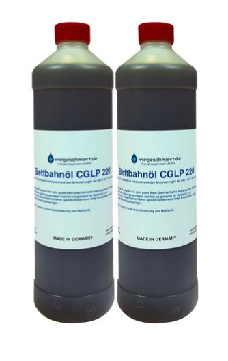 Bett- und Gleitbahnöl CGLP ISO VG 220 (2 x 1 Liter Flasche)