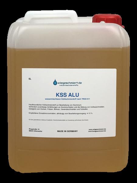 KSS Alu | Kühlschmierstoff für die Aluminiumzerspanung (5 Liter Kanister)