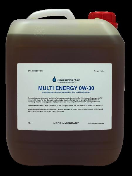 MULTI ENERGY 0W-30 Motorenöl