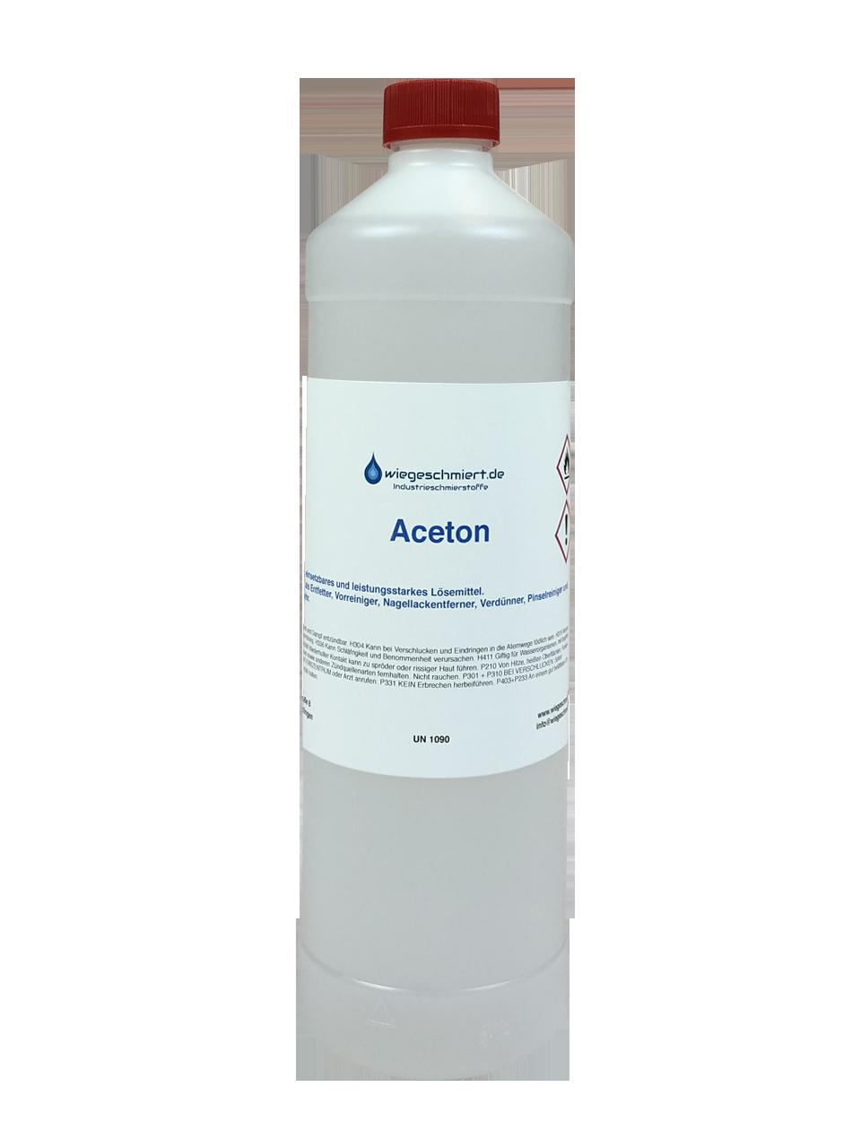 Gut bekannt Aceton 99,5 % | Industrie | Reiniger | wiegeschmiert.de ND51