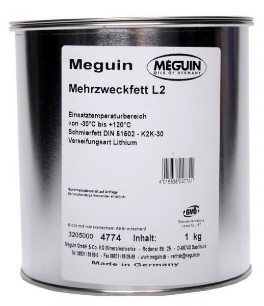 Meguin Mehrzweckfett L2 (1 kg Dose)