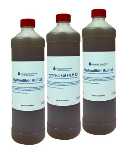 Hydrauliköl HLP 32 (3 x 1 Liter Flasche)