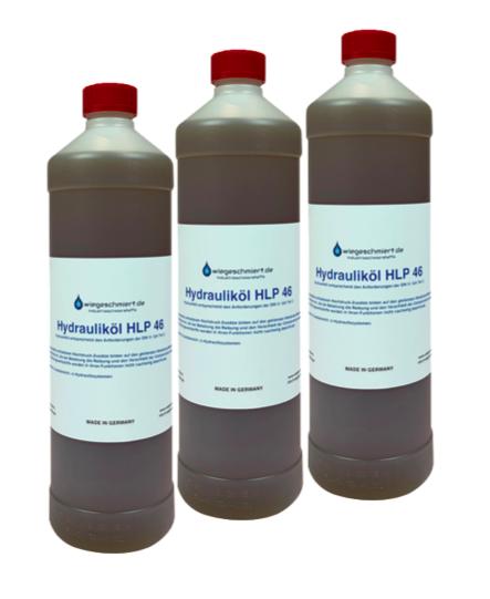 Hydrauliköl HLP 46 (3 x 1 Liter Flasche)