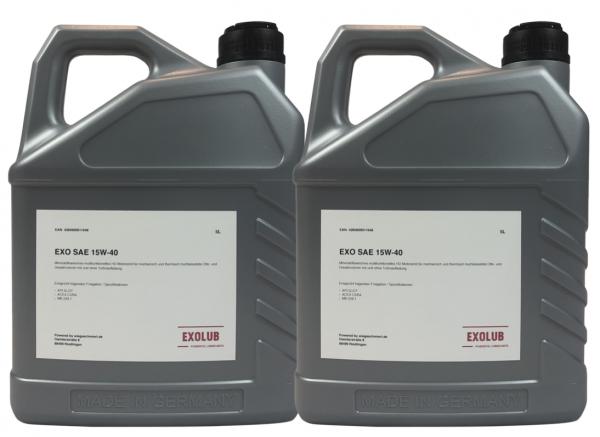 EXO SAE 15W-40 (2 x 5 Liter Kanister)