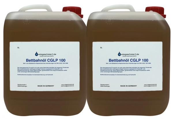 Bett- und Gleitbahnöl CGLP ISO VG 100 (2 x 5 Liter Kanister)