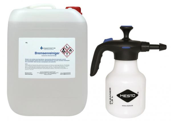 Bremsenreiniger acetonfrei mit hochwertigem Druckspritzer (10 L)