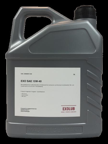 EXO SAE 15W-40 (5 Liter)