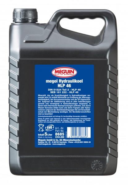 Meguin Hydrauliköl HLP 46 (5 Liter Kanister)