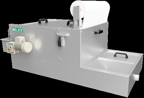 Tank für Tiefbett-Bandfilter 5.10 Kat. 2