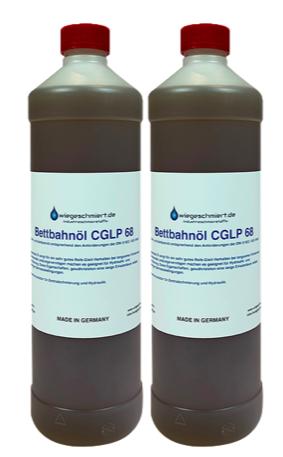 Bett- und Gleitbahnöl CGLP ISO VG 68 (2 x 1 Liter Flasche)