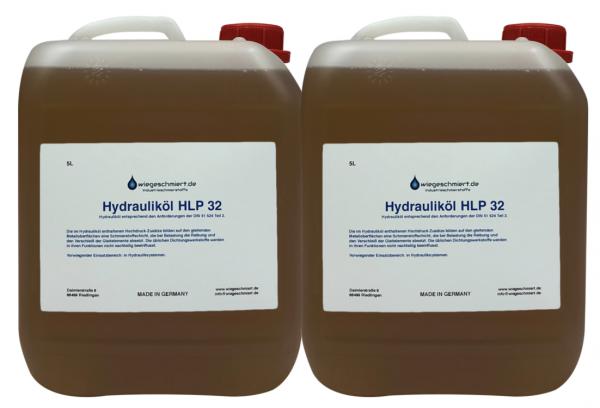Hydrauliköl HLP 32 (2 x 5 Liter Kanister)