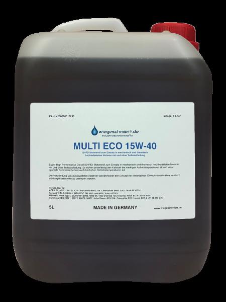 MULTI ECO 15W-40 Motoröl