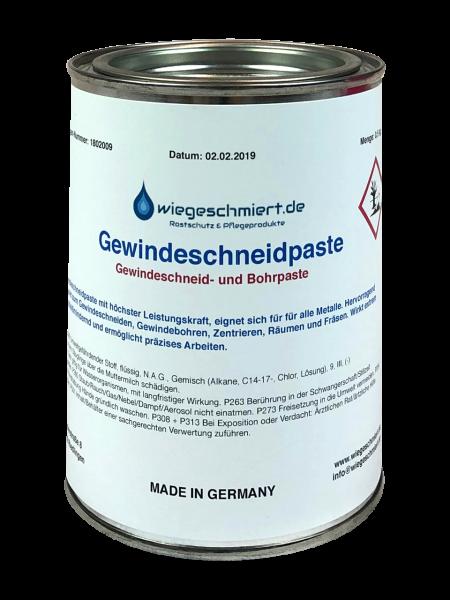 Gewindeschneidpaste chlorhaltig